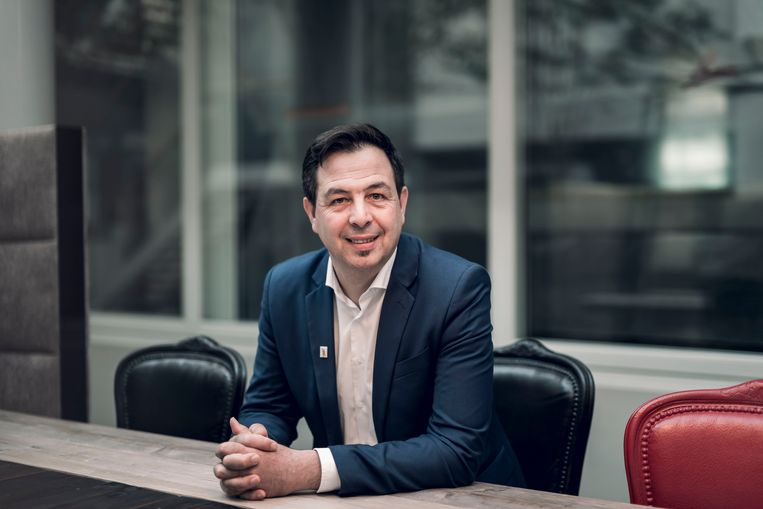 Lijsttrekker voor Groen voor het Vlaams parlement Johan Danen.