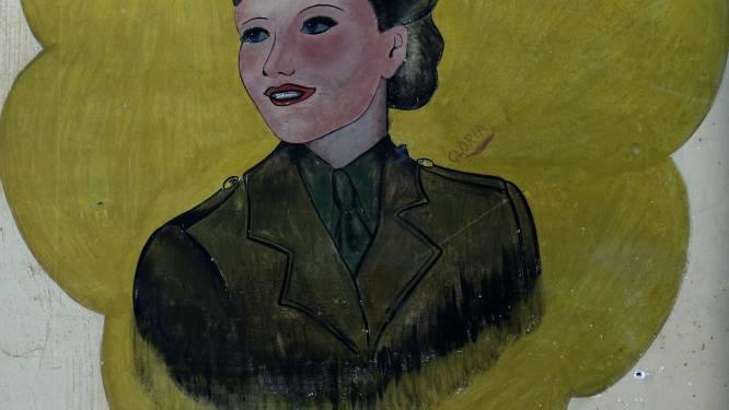 Muurschilderingen uit WO II die in basisschool werden aangetroffen worden dan toch bewaard