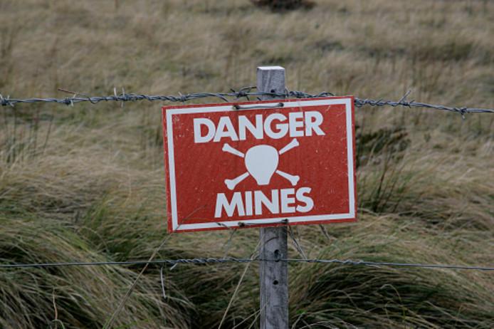 Ter illustratie: mijnenveld
