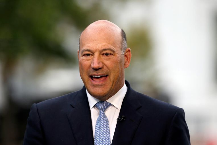 Voormalig Goldman Sachs-bankier Gary Cohn Beeld AP