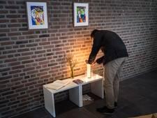 Herdenkingsplek in studentenkerk voor slachtoffers lawine