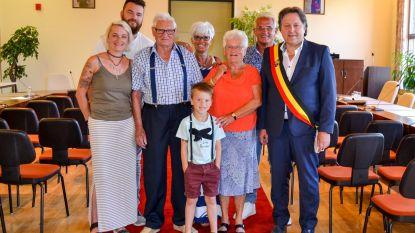Fons en Rosa 60 jaar getrouwd