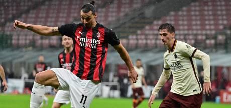 Roma brengt in enerverend duel Milan eerste puntenverlies toe
