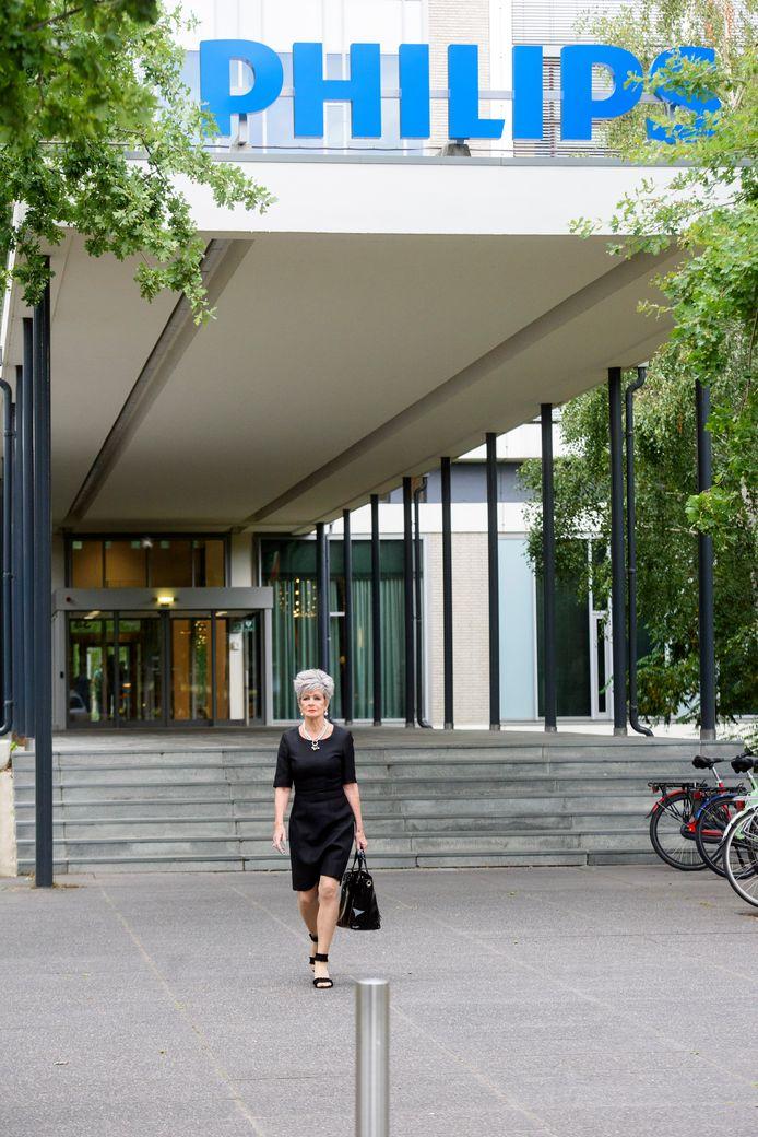 Yvonne Verita nam vorige week na vijftig jaar afscheid van Philips.