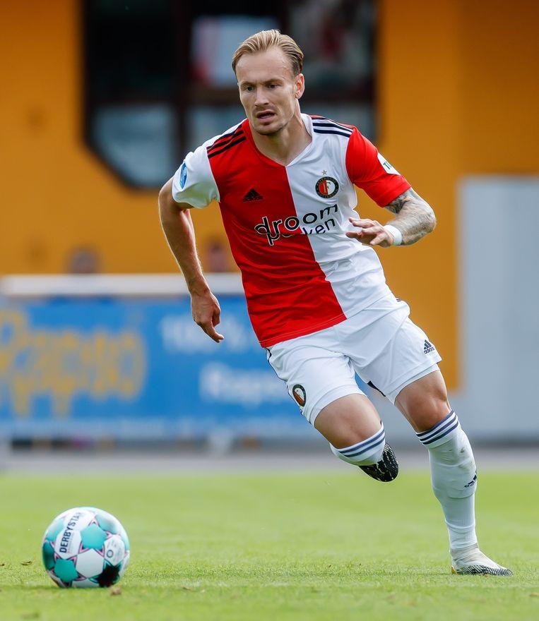 Mark Diemers van Feyenoord Beeld Getty Images