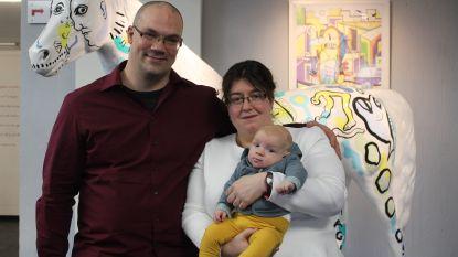Ruben en Romina zeggen 'ja' én dopen zoontje op schrikkeldag