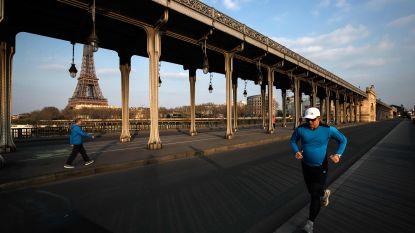 Nog strengere regels in Parijs: sportieve activiteiten buitenshuis verboden tussen 10u en 19u
