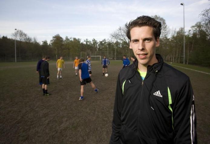 Laurens Foekens staat op 98 goals voor Otterlo. foto Herman Stöver