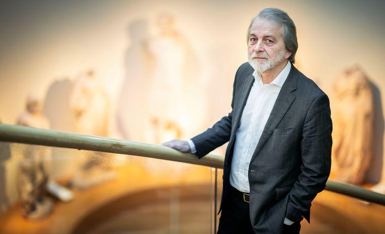 Antropoloog en hoogleraar musea, collecties en samenleving Pieter ter Keurs. Beeld Freek van den Bergh / de Volkskrant