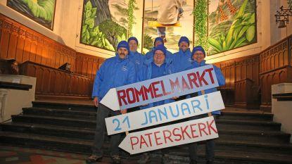 Rommelmarkt vindt plaats in Paterskerk