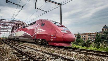 Thalys-treinverkeer gedeeltelijk hersteld