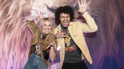 IN BEELD. BV's brullen van plezier op première 'The Lion King'