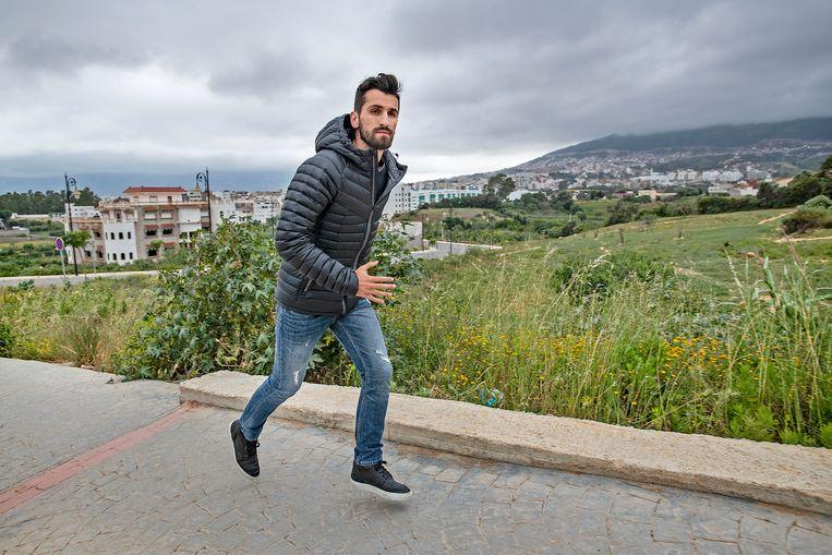 Bilal Amarzagoui. Foto: Guus Dubbelman / de Volkskrant Beeld