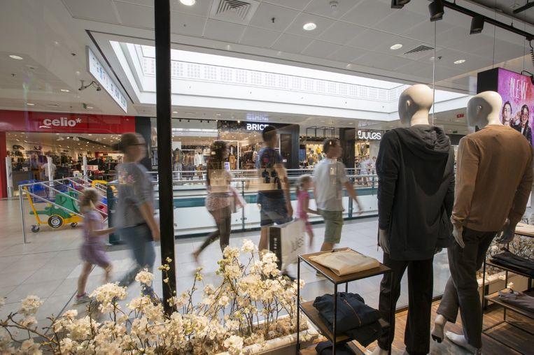 Het winkelcentrum kreeg 3,5 miljoen bezoekers over de vloer in 2018.