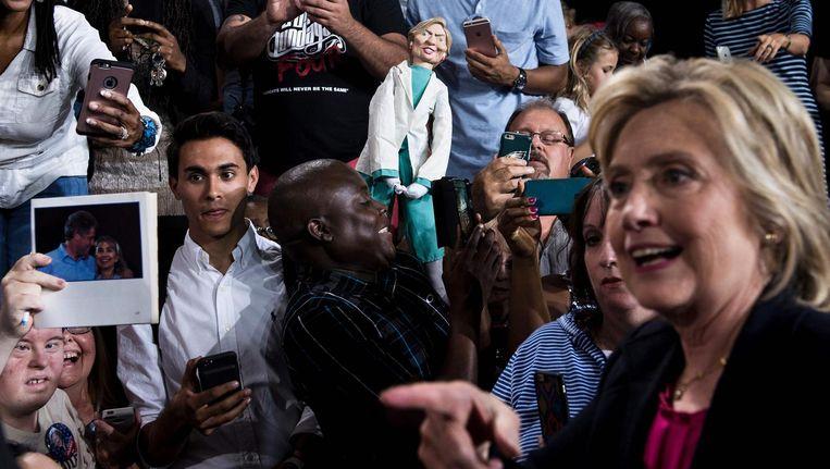 Het conservatieve Dallas Morning News beveelt Hillary Clinton aan Beeld afp