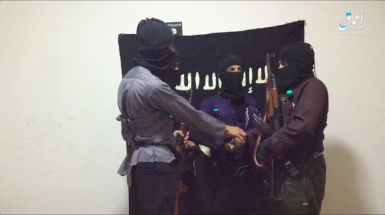 De vier daders van de aanslag op de politiepost in de Saudische stad Az-Zulfi
