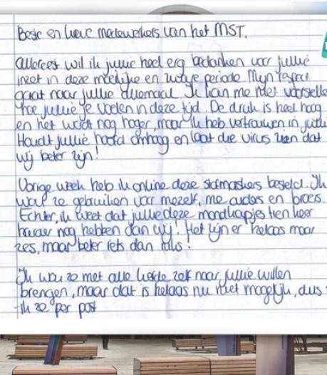 'Superlief' briefje aan MST & berenjacht bij politie Almelo