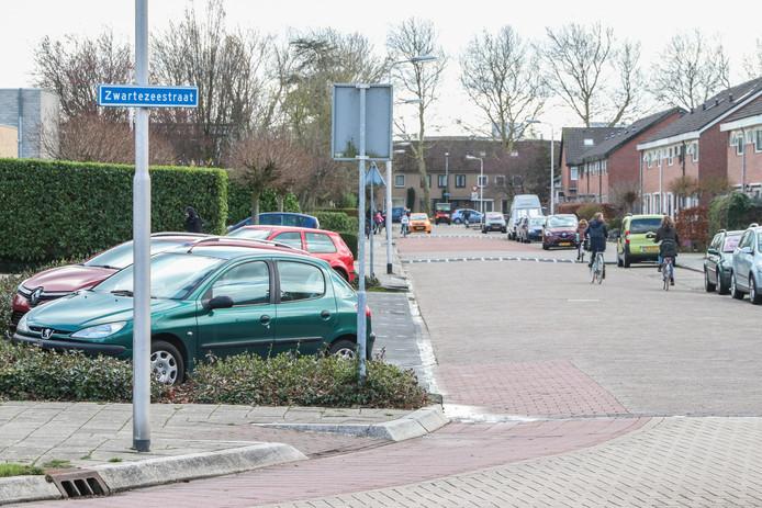 Het steekincident vond plaats op de Zwartezeestraat in Emmeloord.