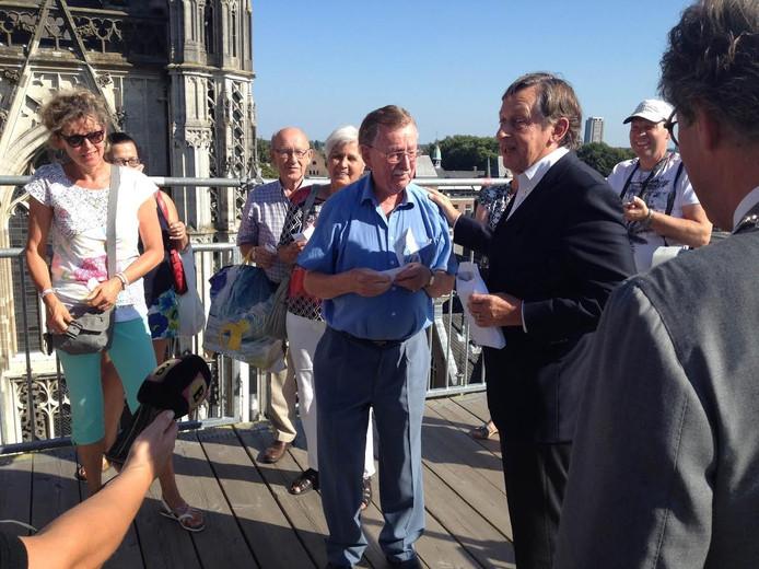 Piet van den Dungen is de 100.000 bezoeker