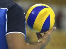 Volleyballers van Forza kunnen koploper niet verontrusten in 'onneembare' zaal
