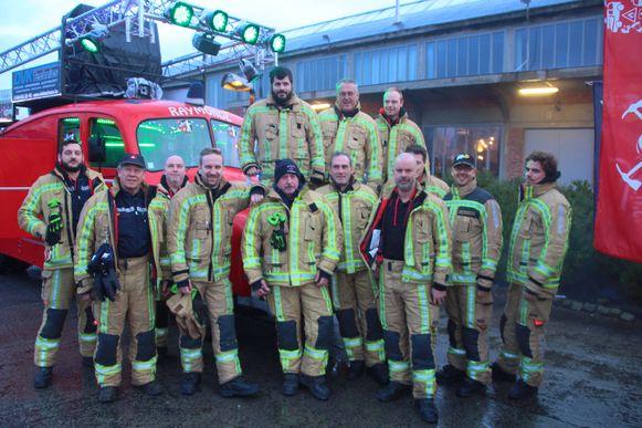 Brandweerpost Erembodegem stuurt een delegatie naar Fire For Life.