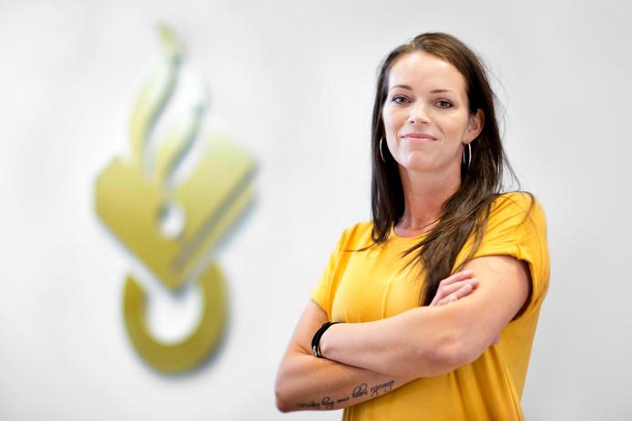 Rechercheur Lesley Lindner van het Team Bestrijding Kinderporno en Sekstoerisme.