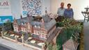 De nieuwste maquette die Gerrit en Nellie van Neerven hebben gemaakt: het oude klooster van Mierlo-Hout.