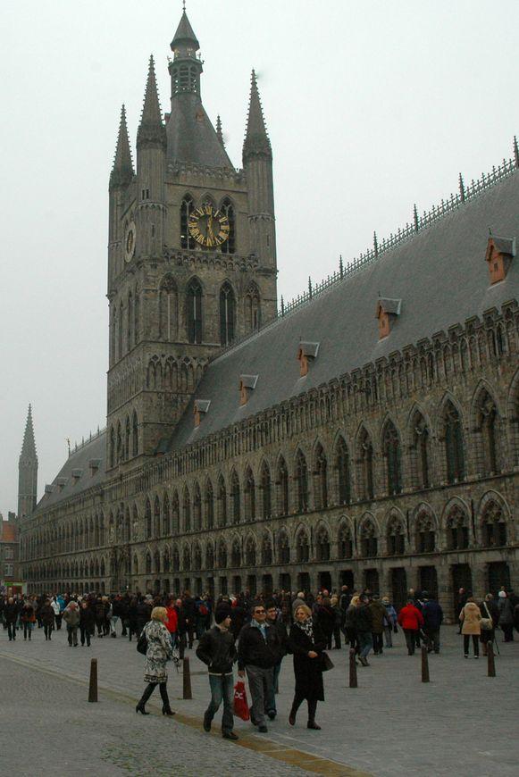 Het In Flanders Fields Museum en de Ieperse Grote Markt zullen zeker present zijn in het aanbod.