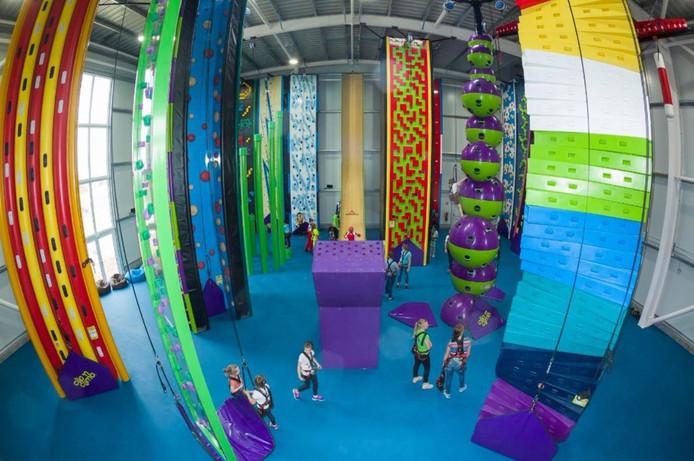 Een van de grootste indoor sport- en spelcentra van Nederland opent in juni zijn deuren in The Wall.