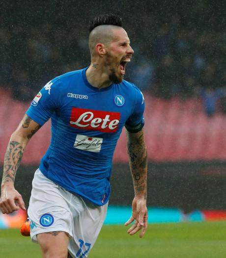 Napoli weer aan kop in Serie A