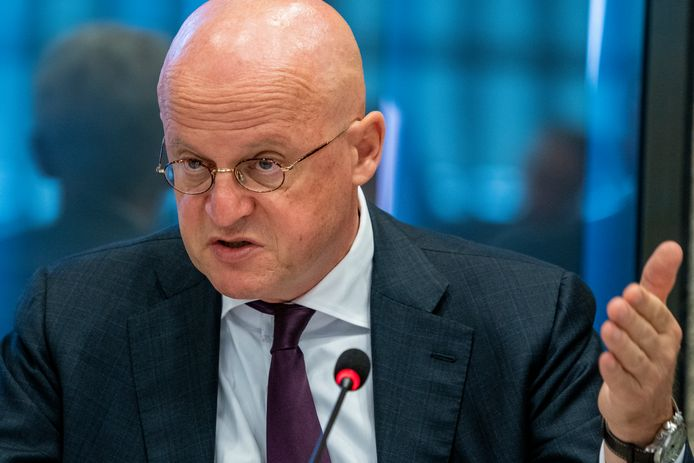 Minister Ferd Grapperhaus van Justitie en Veiligheid