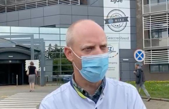 Ziekenhuis Heusden-Zolder, directeur Jeroen Ruyse.
