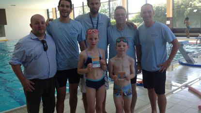 Tijs en Floor hebben 10.000ste zwembrevet beet