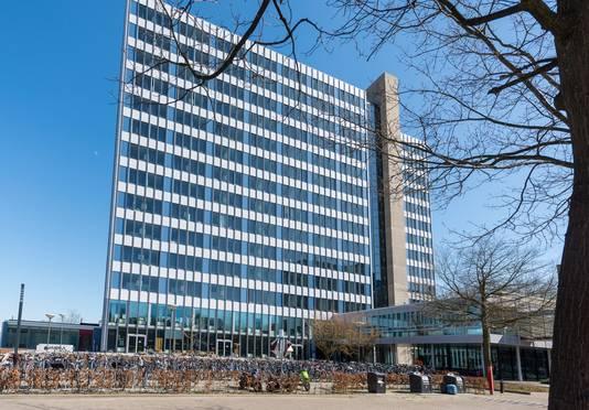 Apartment building Luna on TU Eindhoven Campus.