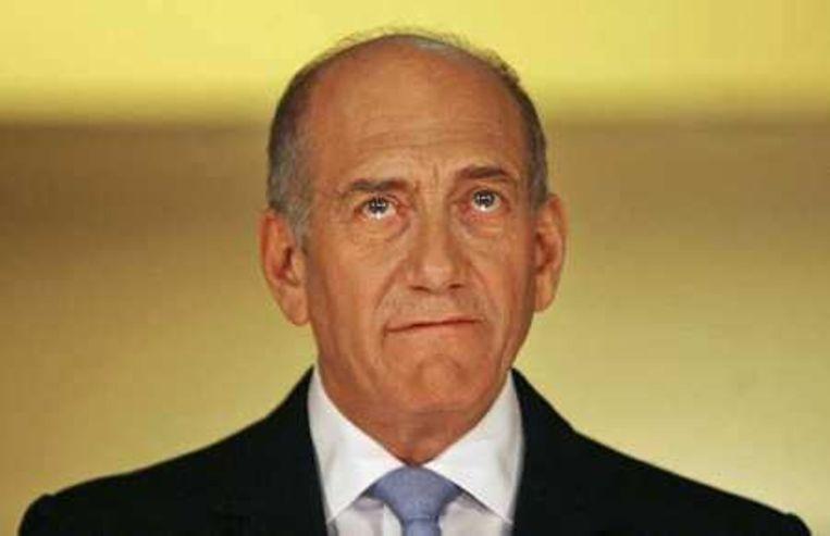 Ehud Olmert. Foto AP/Eliana Aponte Beeld