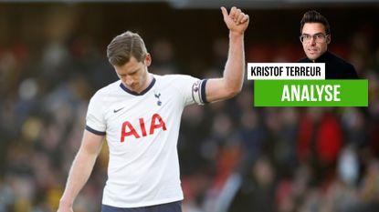 Hij had ook foert kunnen zeggen, maar loyale Jan blijft nog een maand bij Tottenham, tot blijdschap van The Special One