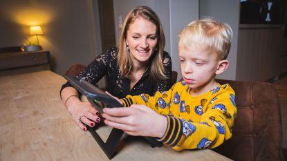 Thibault (4) kan zich uitdrukken dankzij spraakcomputer van Gents bedrijf
