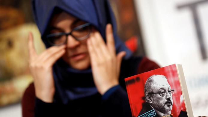 Hatice Cengiz, la fiancée du journaliste Jamal Khashoggi