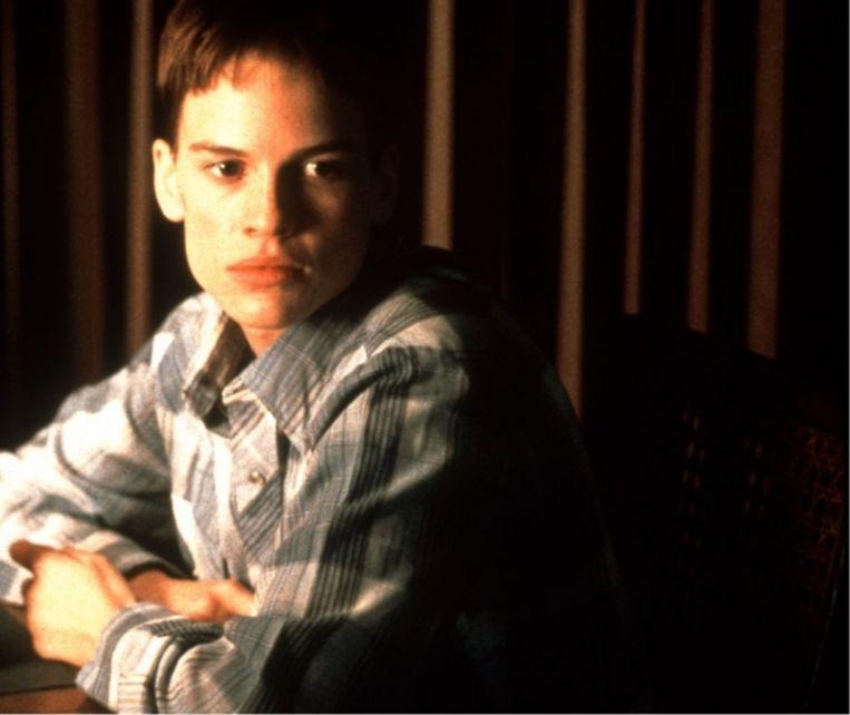 'Toen ik 15 jaar was, ben ik toevallig naar 'Boys Don't Cry' met Hillary Swank beginnen te kijken: plots herkende ik mezelf. Drie jaar later ben ik met hormonen gestart'  Beeld