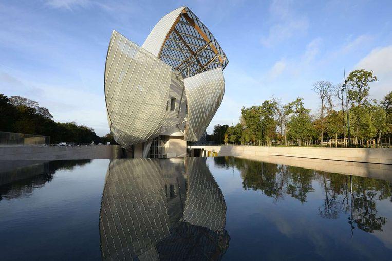 Fondation Louis Vuitton in Parijs. Beeld AFP