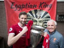 Bilthovenaar Mike zit in het stadion, zaterdag tijdens finale Real-Liverpool