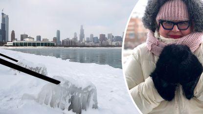 """Chicago deze week kouder dan Antarctica: """"Griezelig"""", zegt Vlaamse inwoner Leentje"""