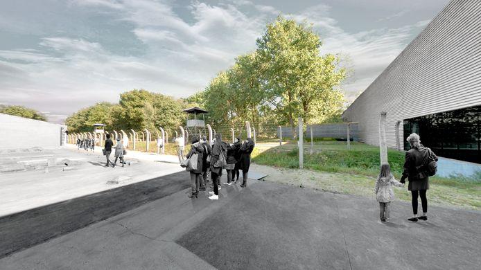 Nationaal Monument Kamp Vught wil in oktober 2019 een nieuwe vleugel openen.