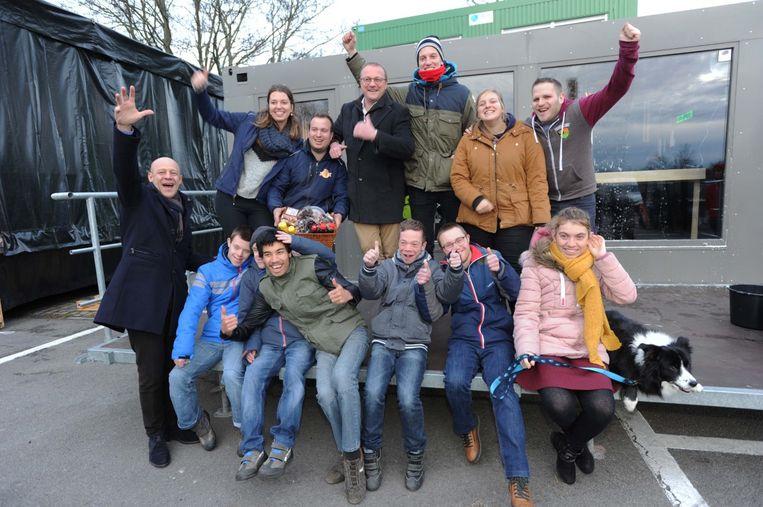 De organisatoren van Zemst for Life en enkele jongen van Windkracht Zemst zijn klaar voor de tweede editie.