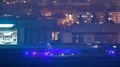 Canadees vliegtuig dat in de problemen gekomen was boven Madrid veilig geland