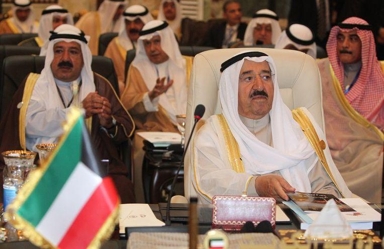 De emir van Koeweit Sabah al-Ahmad al-Sabah. Beeld afp