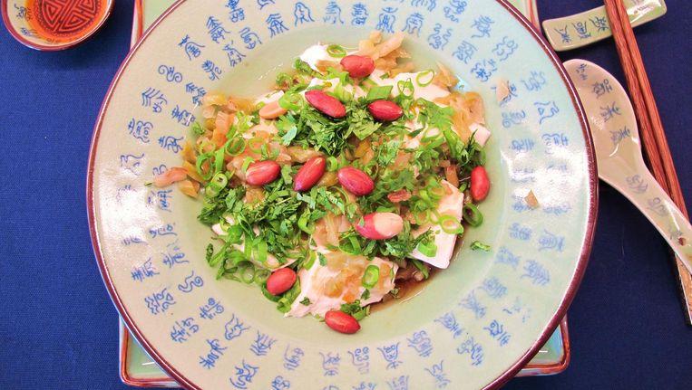 Ontbijttofu uit Hangzhou Beeld Pay-Uun Hiu