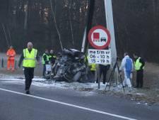 Drie doden te betreuren door ongeluk op de A59 bij Rosmalen