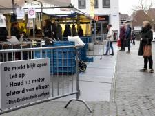 De bloemenkraam van Gijsbert vandaag niet te vinden op de streekmarkt in Woerden
