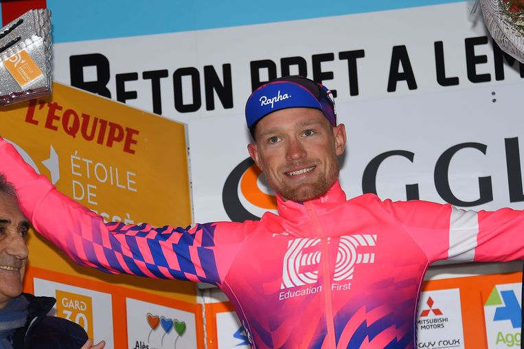 Magnus Cort (Education First) won in de Ster van Bessèges de tweede etappe.